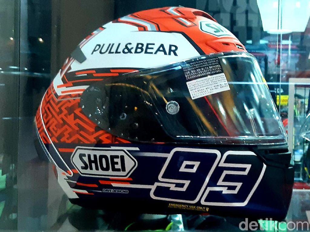Helm Marquez Bersaudara Dijual Setara Scoopy Bekas di IIMS 2021