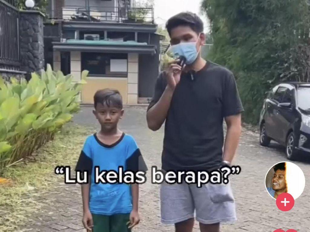 Viral Bocah Tak Tahu Kepanjangan SD, Jawabannya Bikin Ngakak Sekaligus Miris