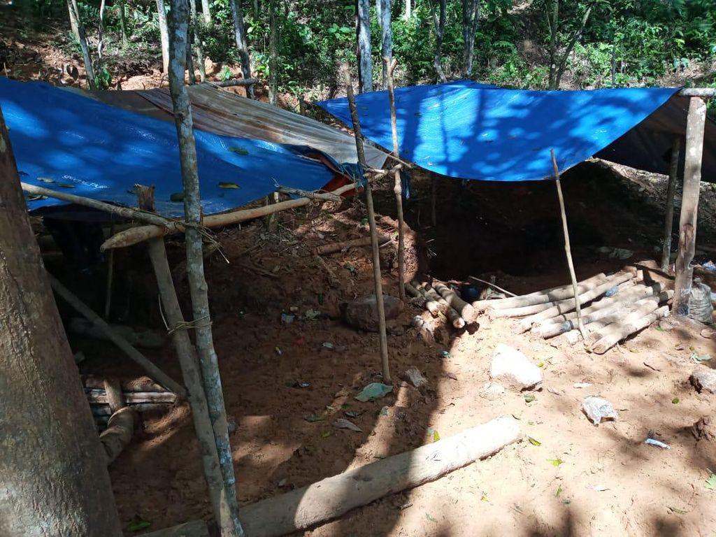 Ini Lokasi Tambang Emas Ilegal yang Rusak Hutan Larangan Milik Baduy