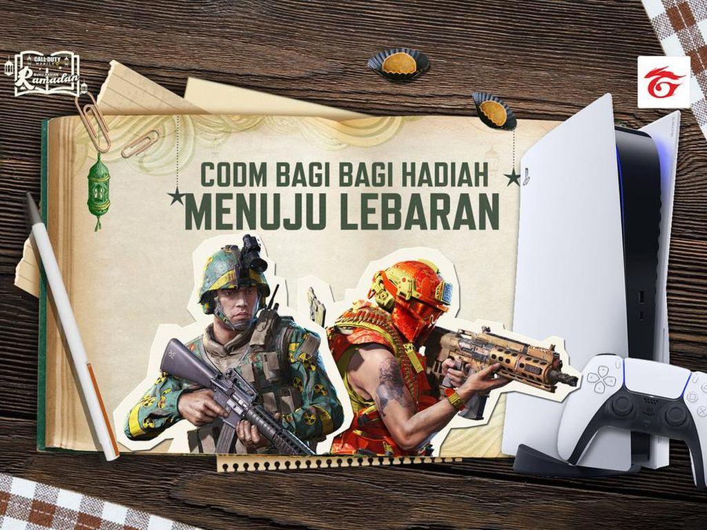 Main CODM di Bulan Ramadhan, Dapat PS 5 Gratis & Hadiah Asyik Lainnya
