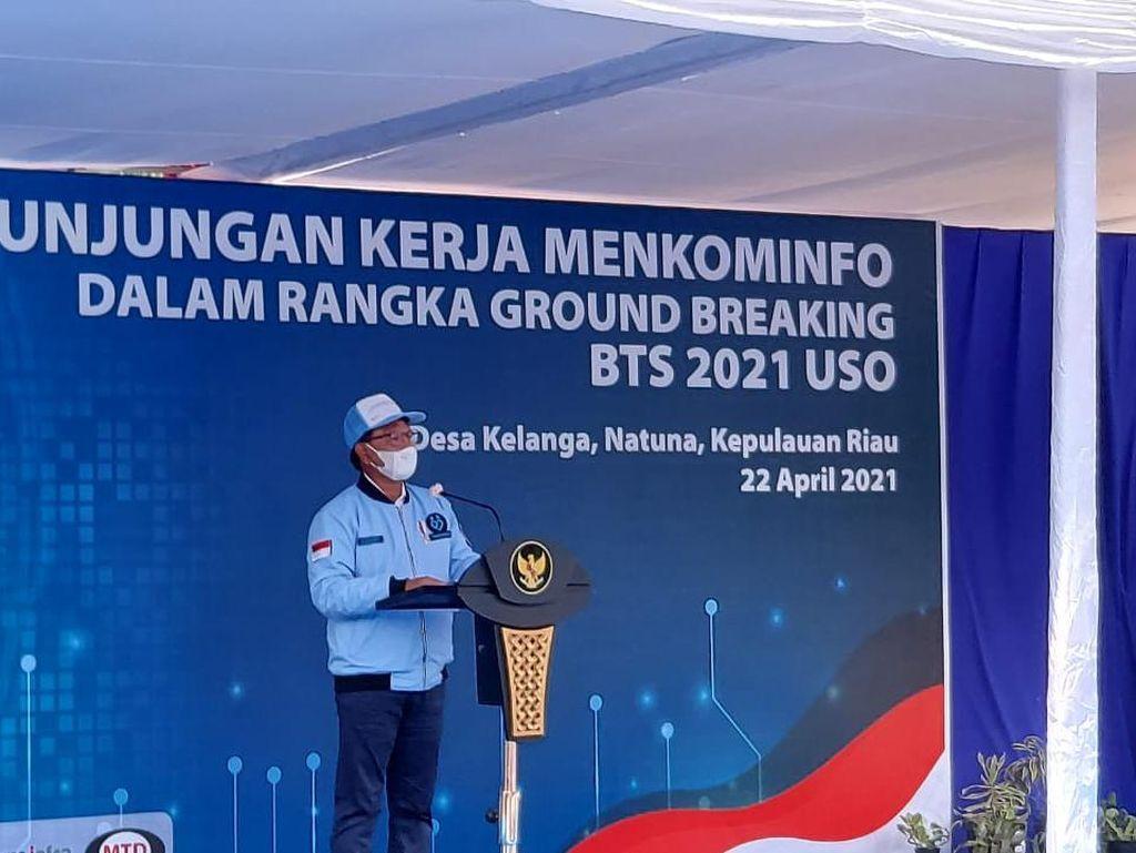 Kominfo Kebut Pemerataan Akses Internet di Pelosok Indonesia