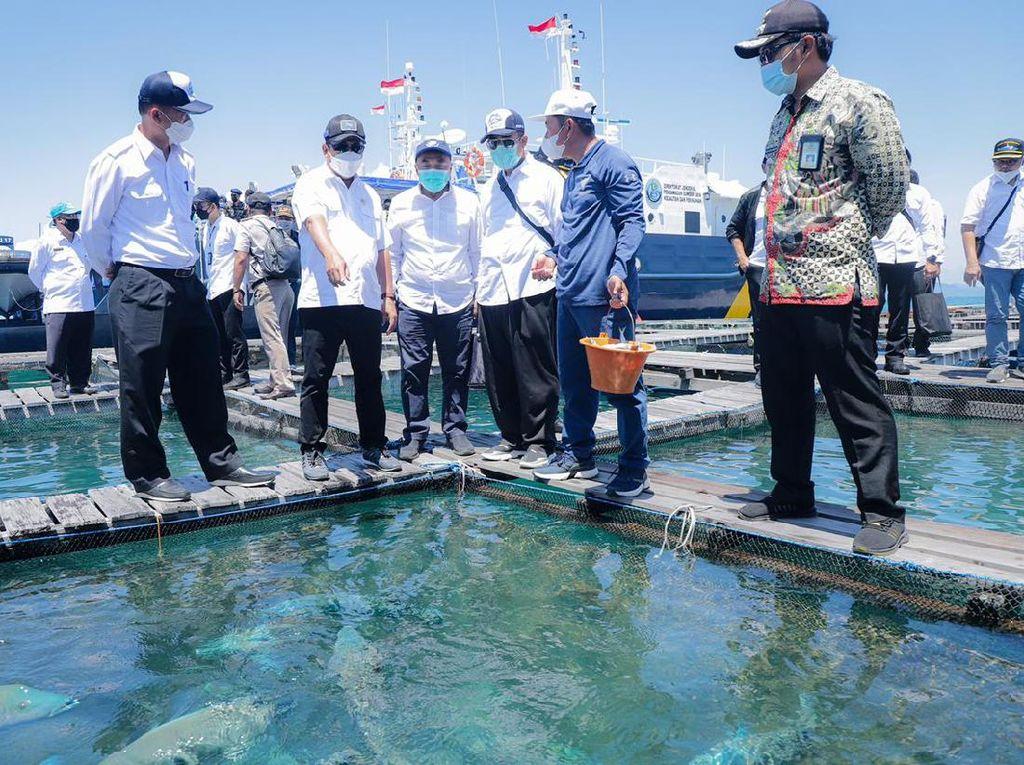 Trenggono Nilai Kepulauan Natuna Potensial Dijadikan KEK Kelautan