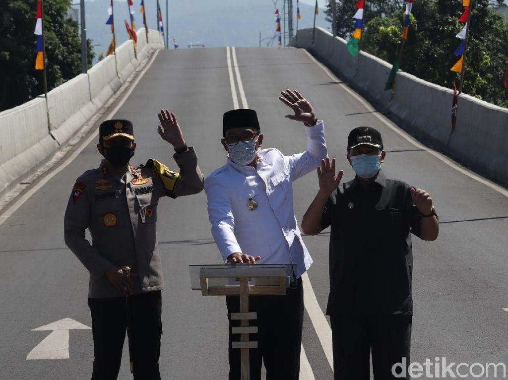 Resmikan 2 Flyover di Bandung, Ridwan Kamil: Semoga Bermanfaat