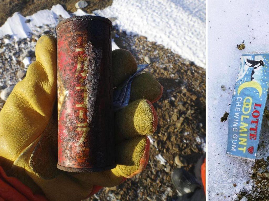 Nyasar ke Antartika 50 Tahun, Kaleng Soda Utuh dari Jepang Pulang Kampung