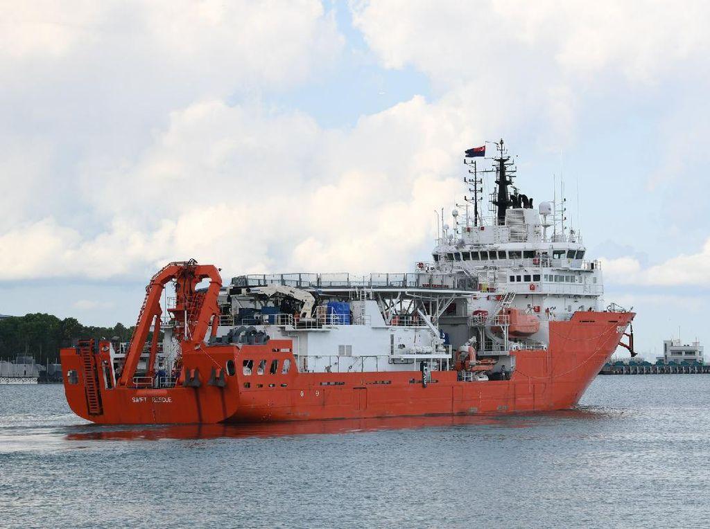 Fakta MV Swift Rescue Singapura yang Temukan KRI Nanggala-402