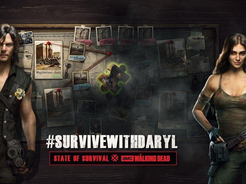 Game State of Survival Kedatangan Pemain The Walking Dead