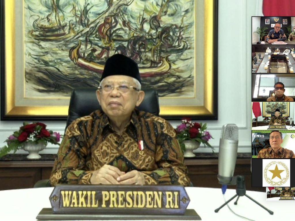 Wapres Maruf Amin Dukung Konversi Bank Riau Kepri Jadi Bank Syariah