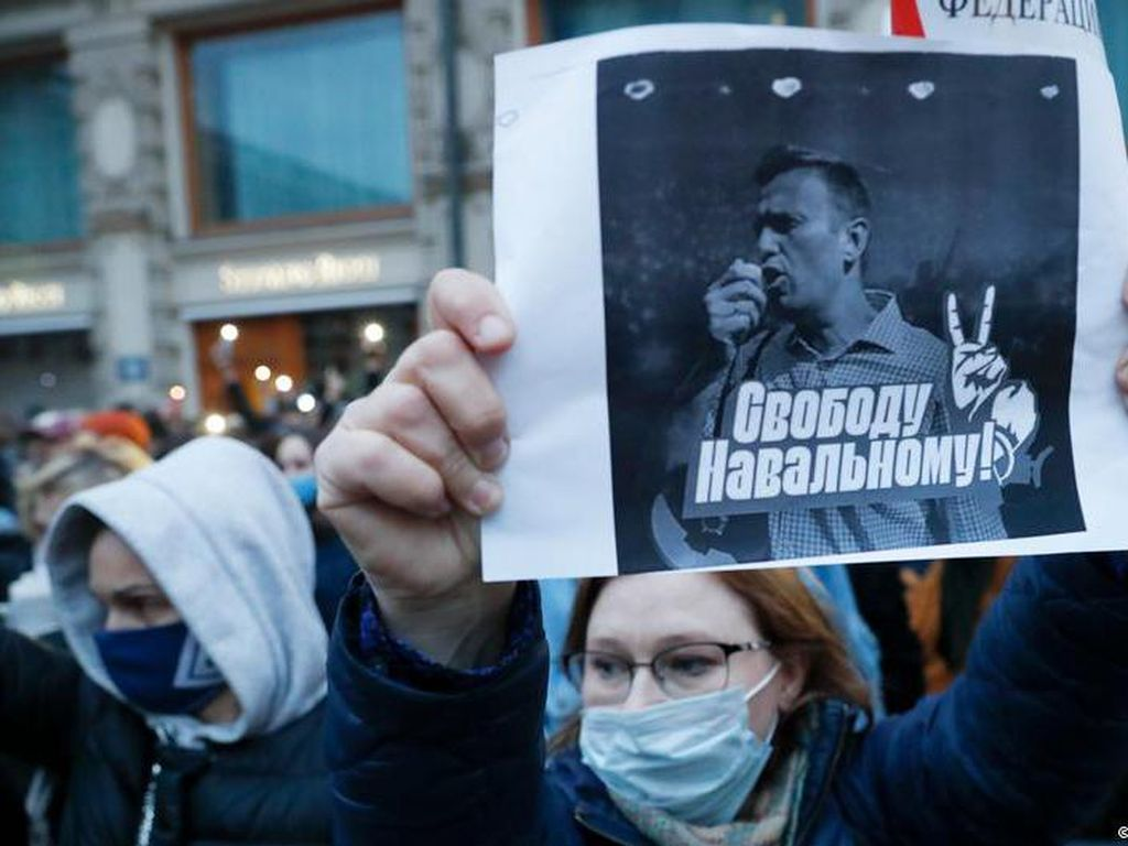 Kondisi Kritis, Dokter Desak Alexei Navalny Akhiri Aksi Mogok Makan