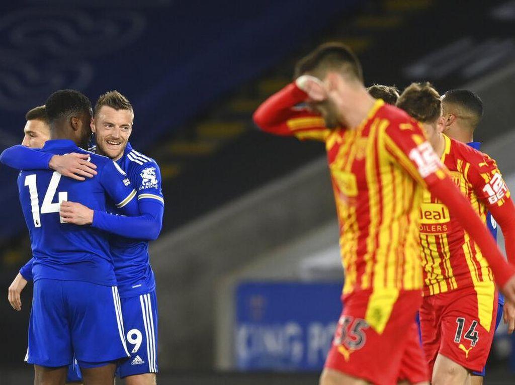 Leicester Vs West Brom: Menang 3-0, The Foxes Mantap di Tiga Besar