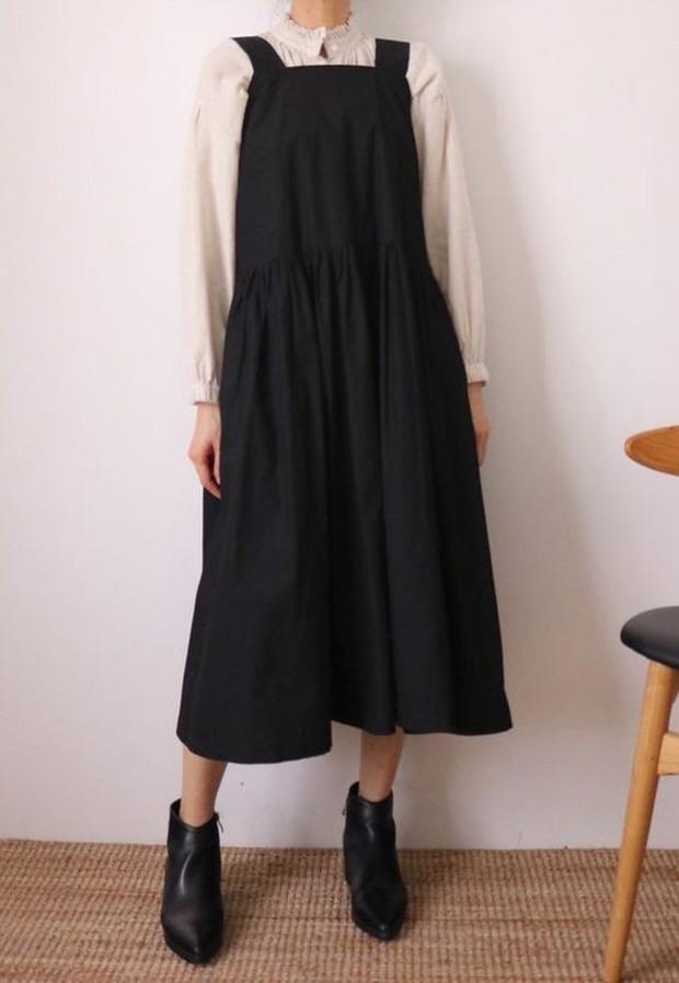 Midi Lenght Loose Dress(sumber : pinterest.com/esty)