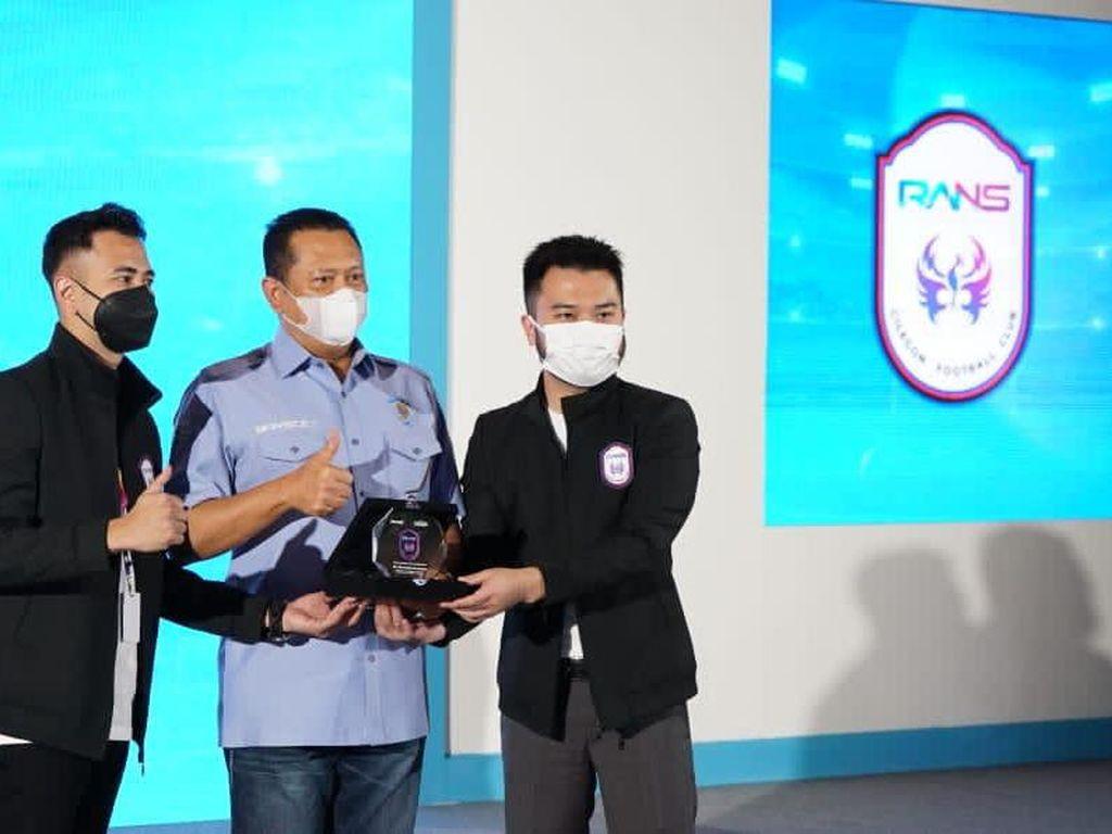 Bamsoet Dukung Raffi Ahmad & Rudy Salim Majukan RANS Cilegon FC
