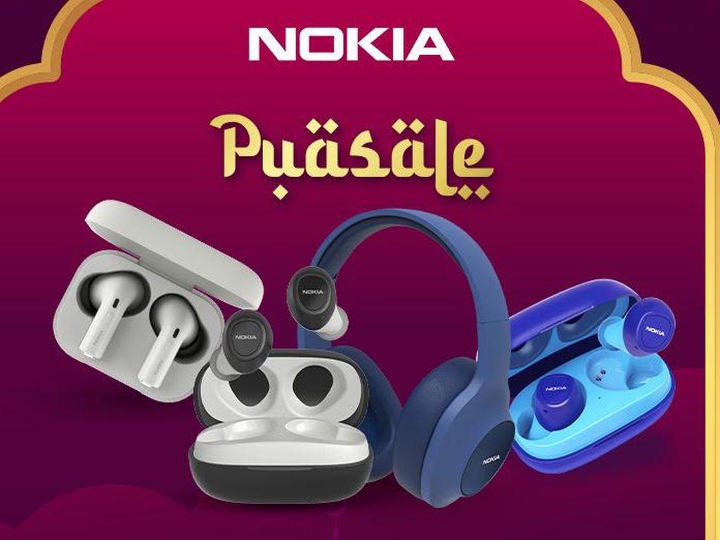Nokia Audio Gelar Promo PuaSALE di Bukalapak, TWS E3100 Diskon 50%!