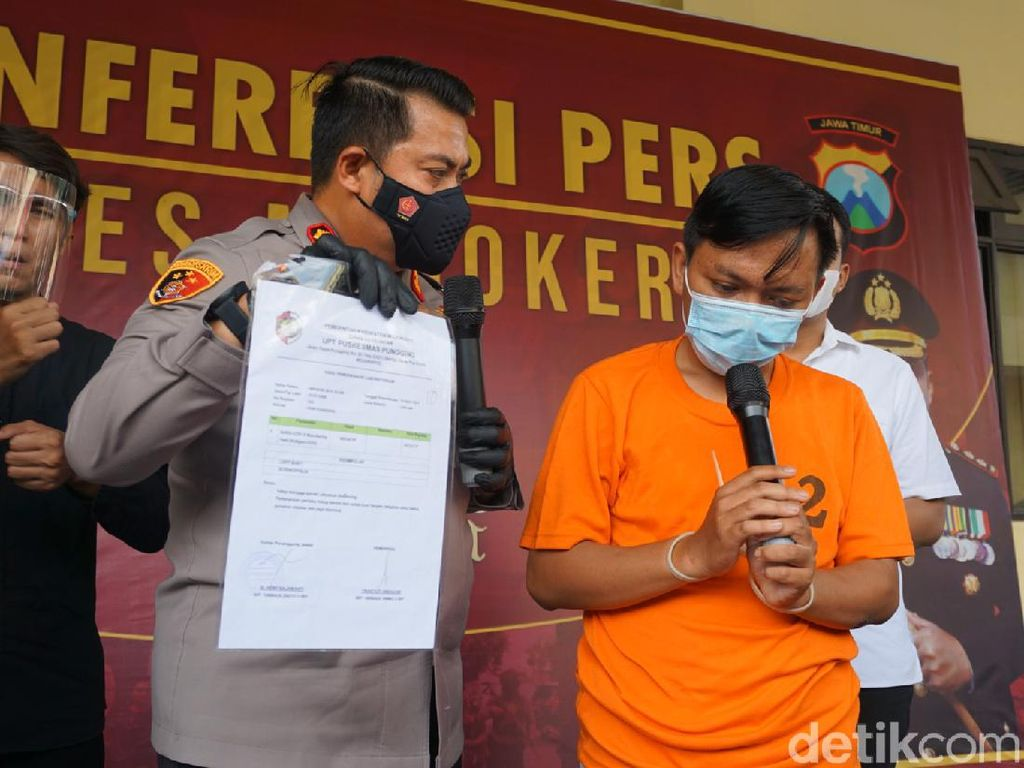 Pegawai Puskesmas yang Palsukan Surat Tes Antigen di Mojokerto Dipecat