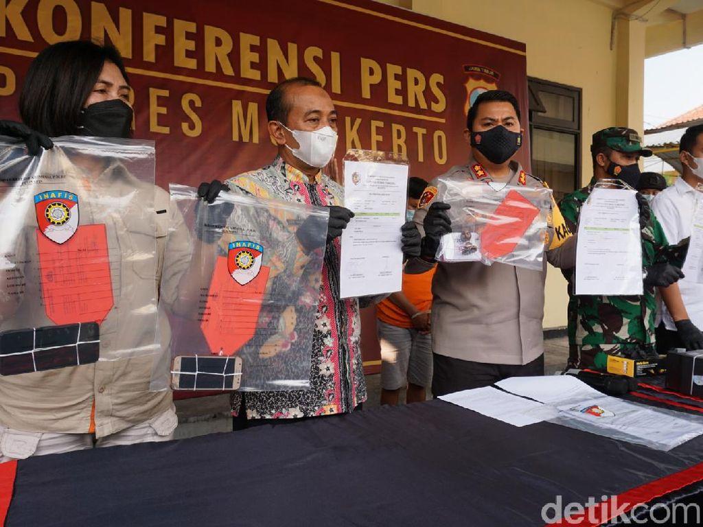 Begini Modus Pelaku Palsukan Surat Tes Antigen di Mojokerto