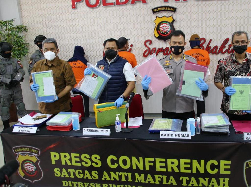 Eks Kades di Kalbar Terlibat Mafia Tanah Rp 1 T Pernah Nikah 32 Kali