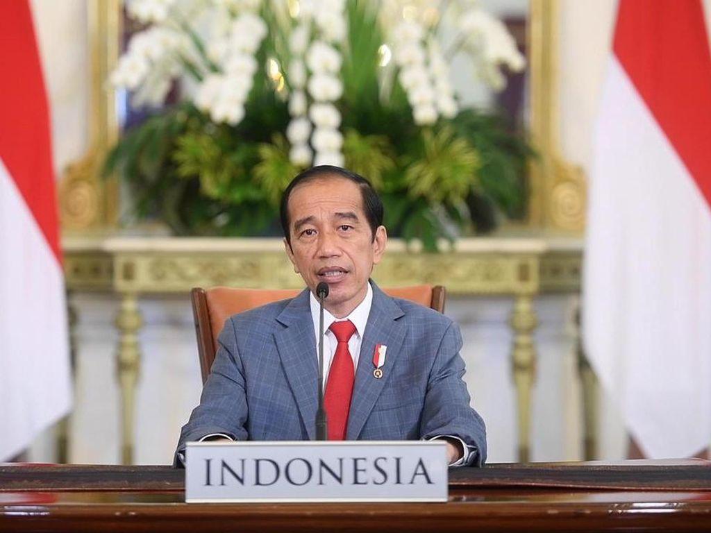 Jokowi Sampaikan Kesedihan Mendalam atas Tenggelamnya KRI Nanggala-402