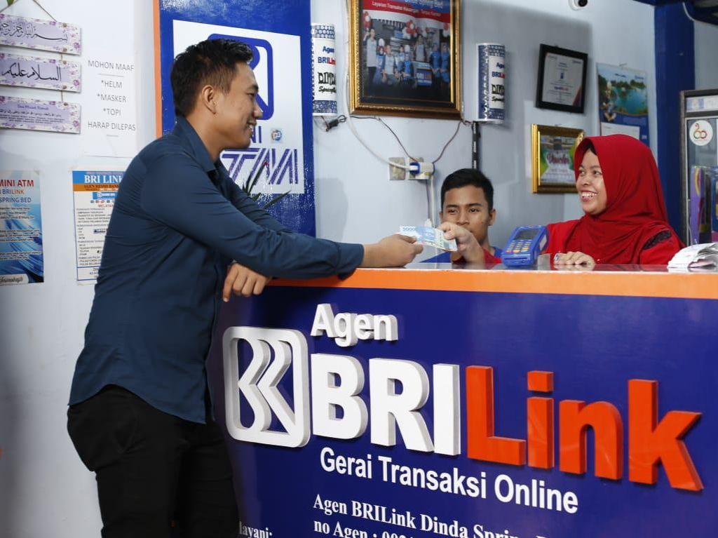 Volume Transaksi Agen BRILink Tahun 2021 Ditarget Capai Rp 1.000 T