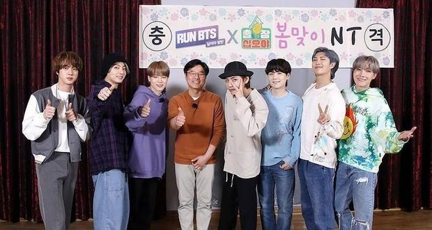 BTS kolaborasi dengan PD Na Young Suk (foto: instagram.com/insfirezz_man)