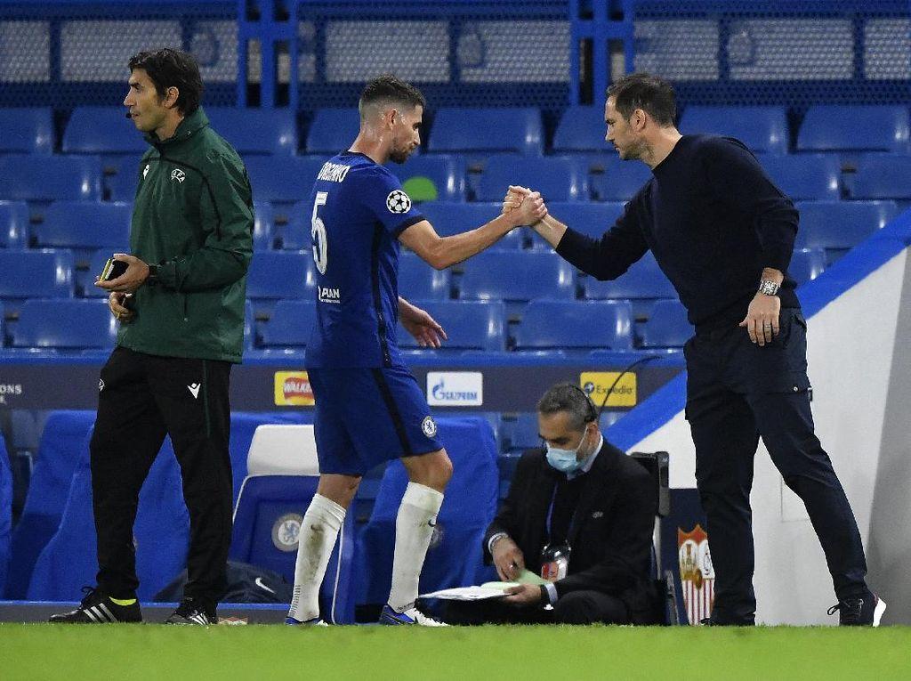 Jorginho Kritik Lampard, Disebut Terlalu Cepat Latih Chelsea