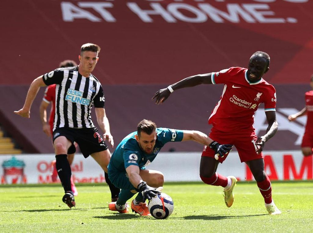 Liverpool Vs Newcastle: Lengah di Akhir, The Reds Ditahan 1-1
