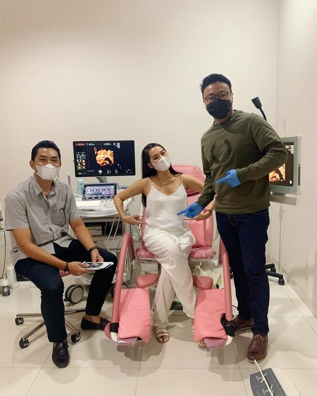 Niken Anjani menjalani checkup jelang persalinan/instagram.com/nikenanjanii