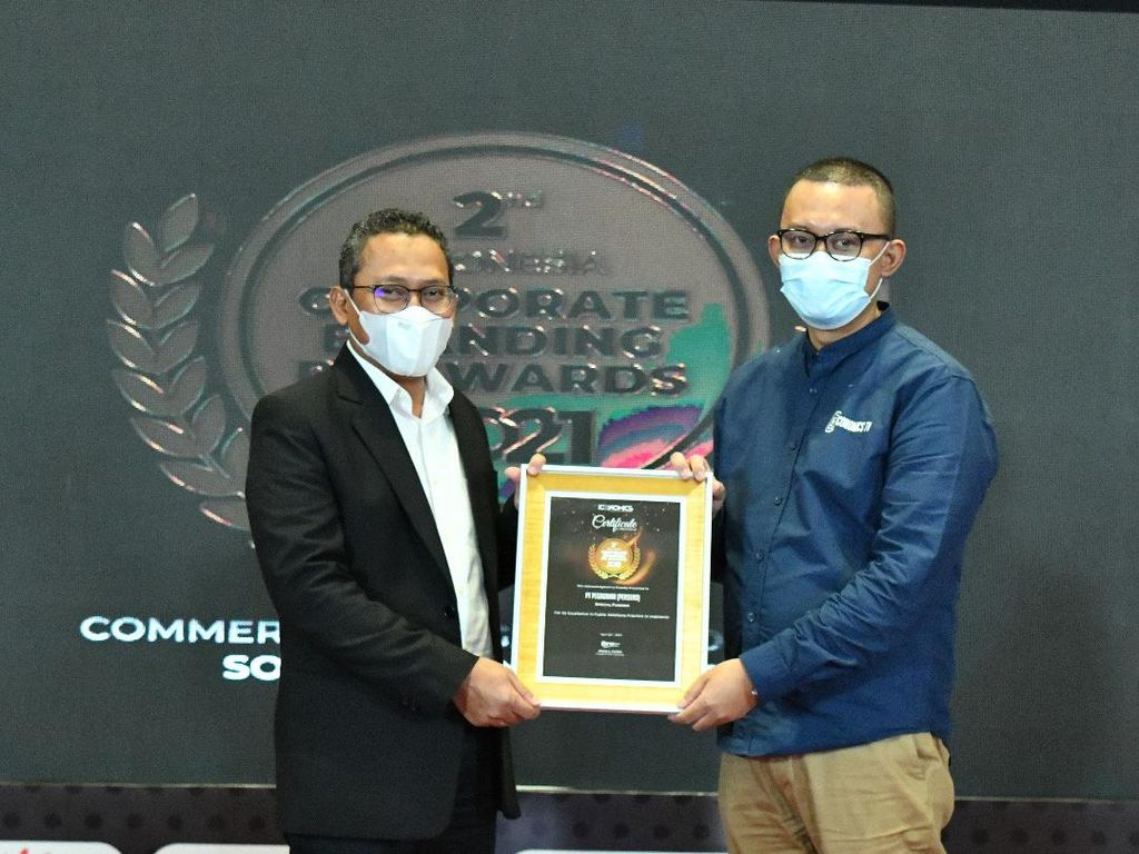 Pegadaian Sabet Penghargaan PR Award 2021 dari Iconomics