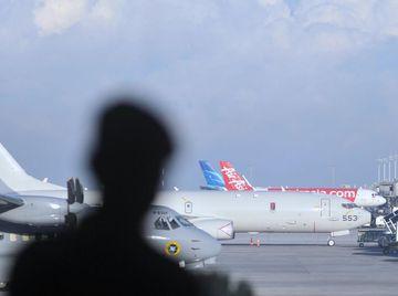 Pesawat Canggih AS untuk Bantu Pencarian KRI Nanggala Tiba di Bali
