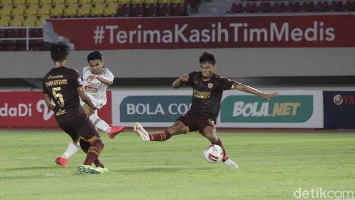 PSS Sleman berhadapan dengan PSM Makassar pada perebutan tempat ketiga Piala Menpora 2021