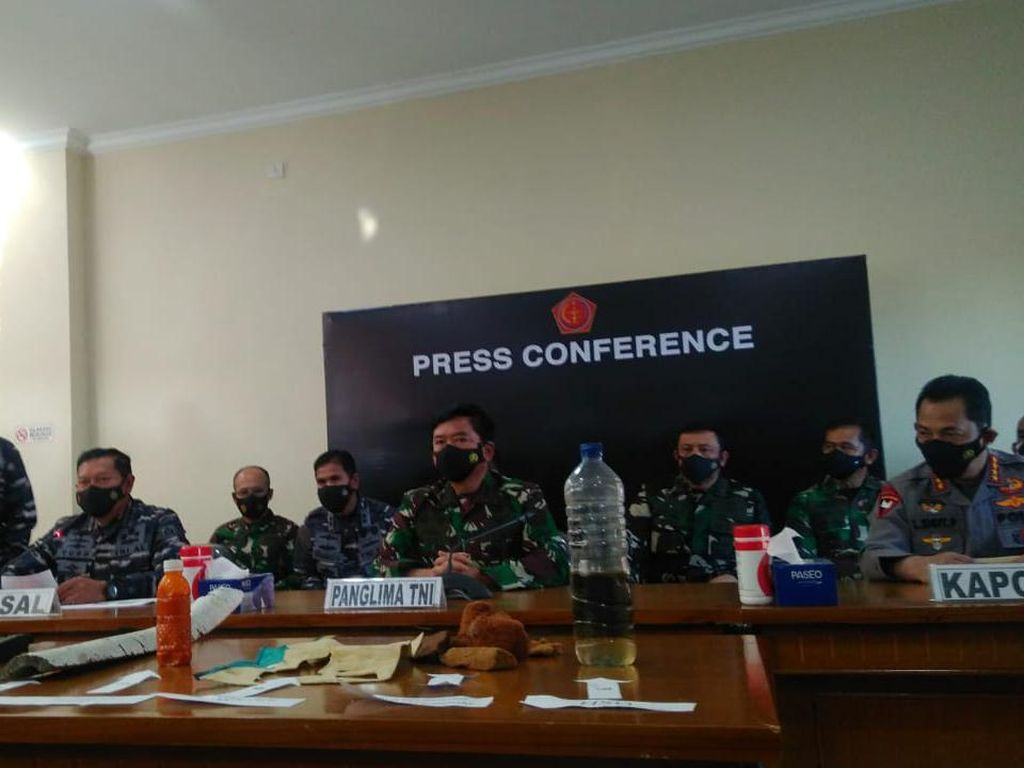 Panglima TNI Pastikan KRI Nanggala-402 Tenggelam