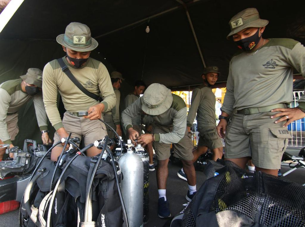 Personel Taifib Disiagakan untuk Pencarian KRI Nanggala-402
