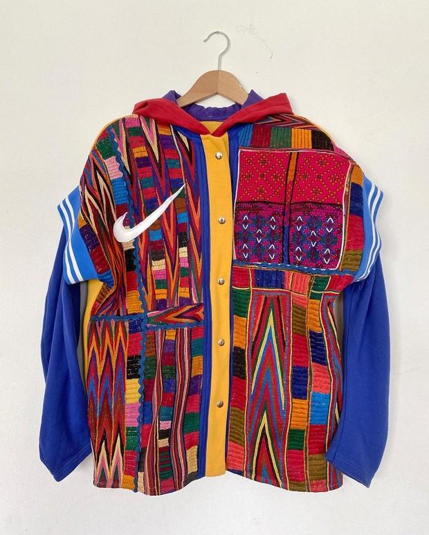 Varsity Jacket dari Vintage Cardigan