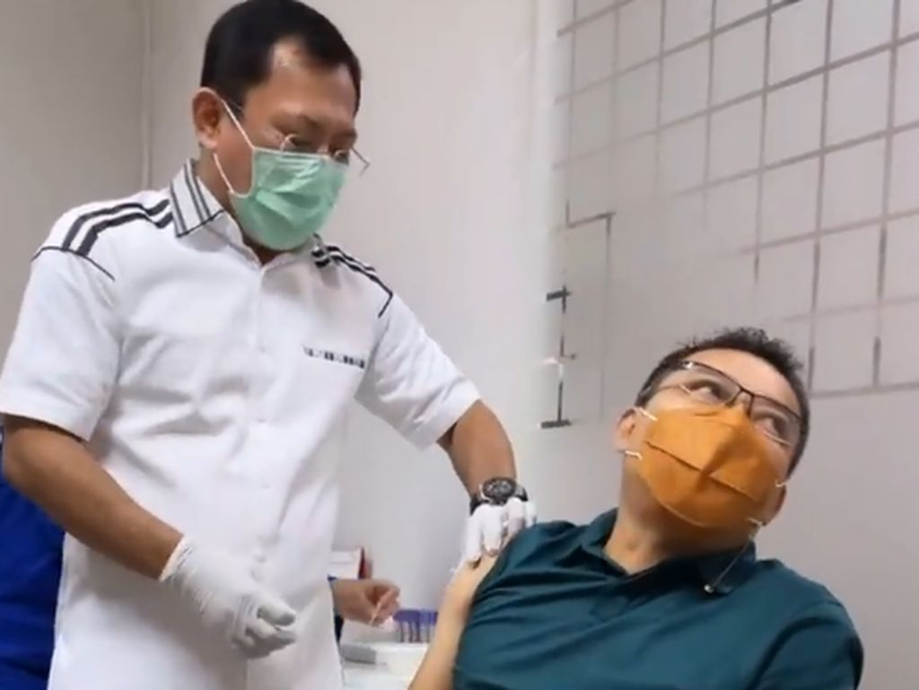 Usai Vaksinasi Nusantara, Anang: Aku Nggak Ada Gejala Aneh-Aneh