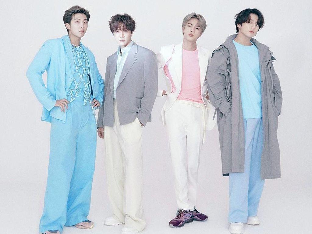 Nyentrik, 10 Penampilan Perdana BTS Jadi Brand Ambassador Louis Vuitton
