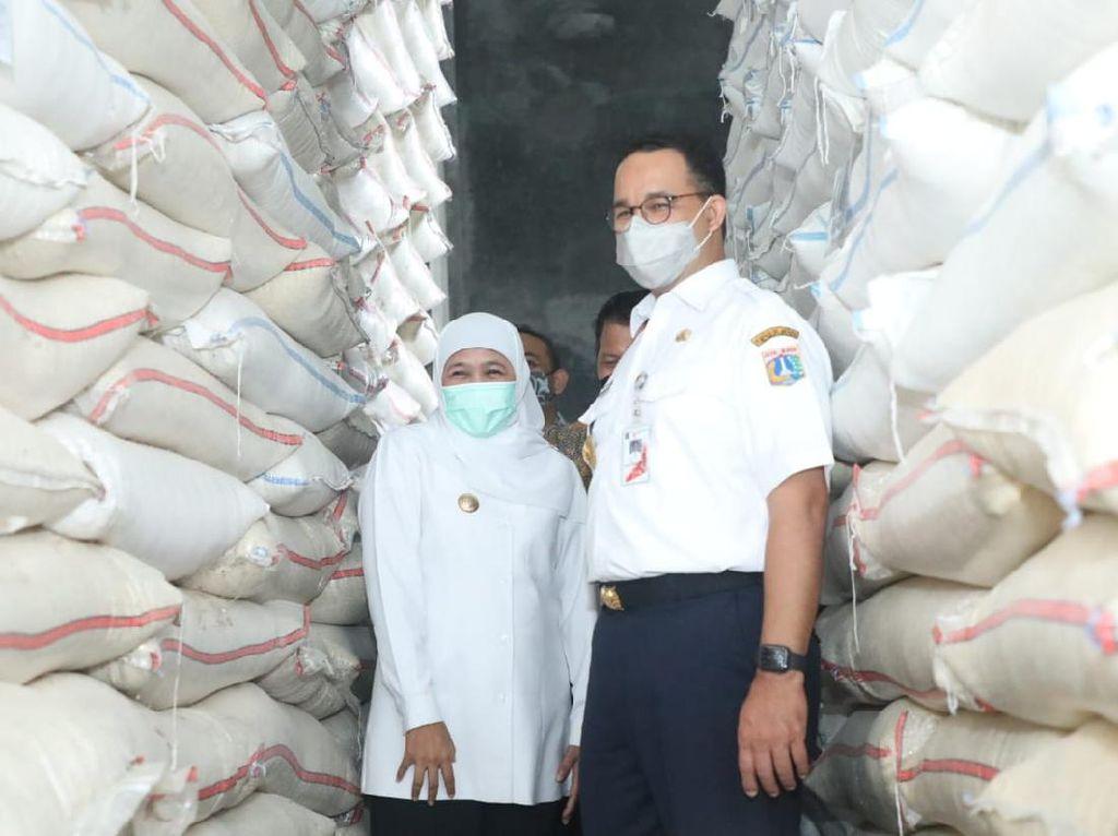 Jakarta Ketergantungan Pangan 99 Persen, Anies Ingin Balas Budi ke Petani Jatim