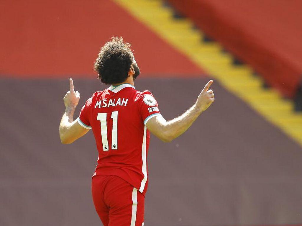 MU Vs Liverpool: Salah Bisa Samai Rekor 100 Tahun di The Reds