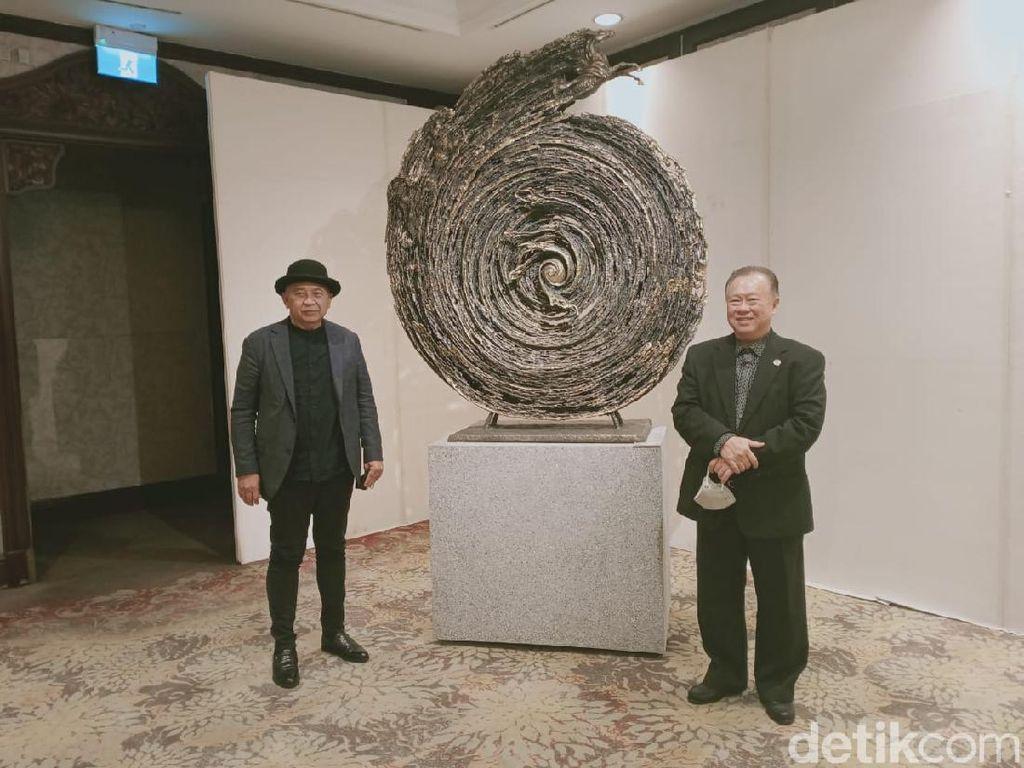 Linda Gallery Gandeng Nyoman Nuarta di Road to Beijing Tahun Depan