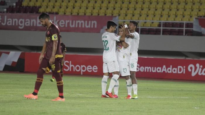 PSS Sleman berhadapan dengan PSM Makassar di perebutan tempat ketiga Piala Menpora 2021.