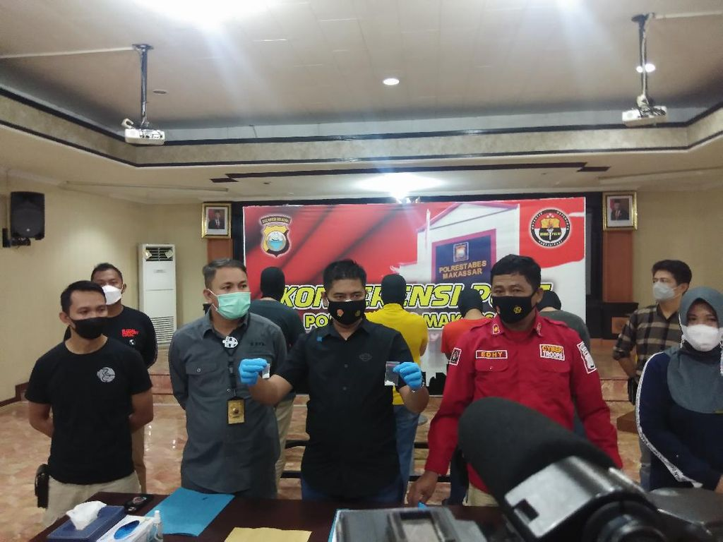 Niat Pesta Sabu 4 Pejabat Pemkot Makassar Berujung Terjerat Aparat