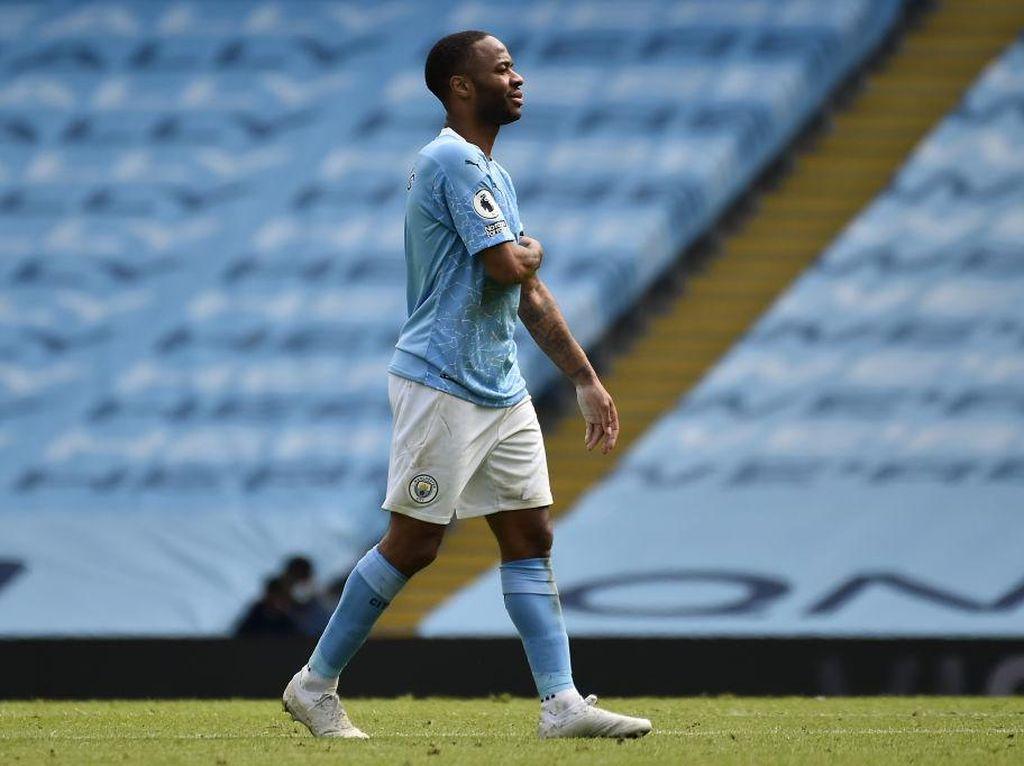 Sterling Lagi Mejan, Bisa Bikin Gol di Final Piala Liga Inggris?