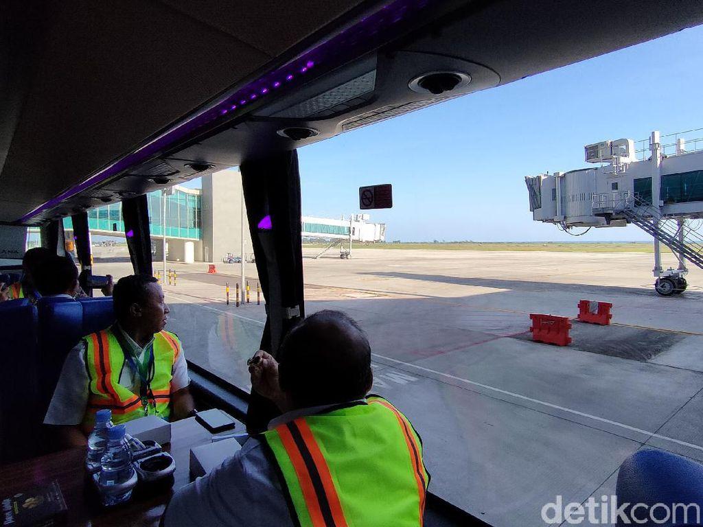 Foto: Tur Keliling Bandara YIA Seru Juga