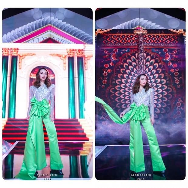 Zaskia Gotix tampil dengan tubuh terlihat jenjang di sebuah acara/instagram.com/zaskia_gotix