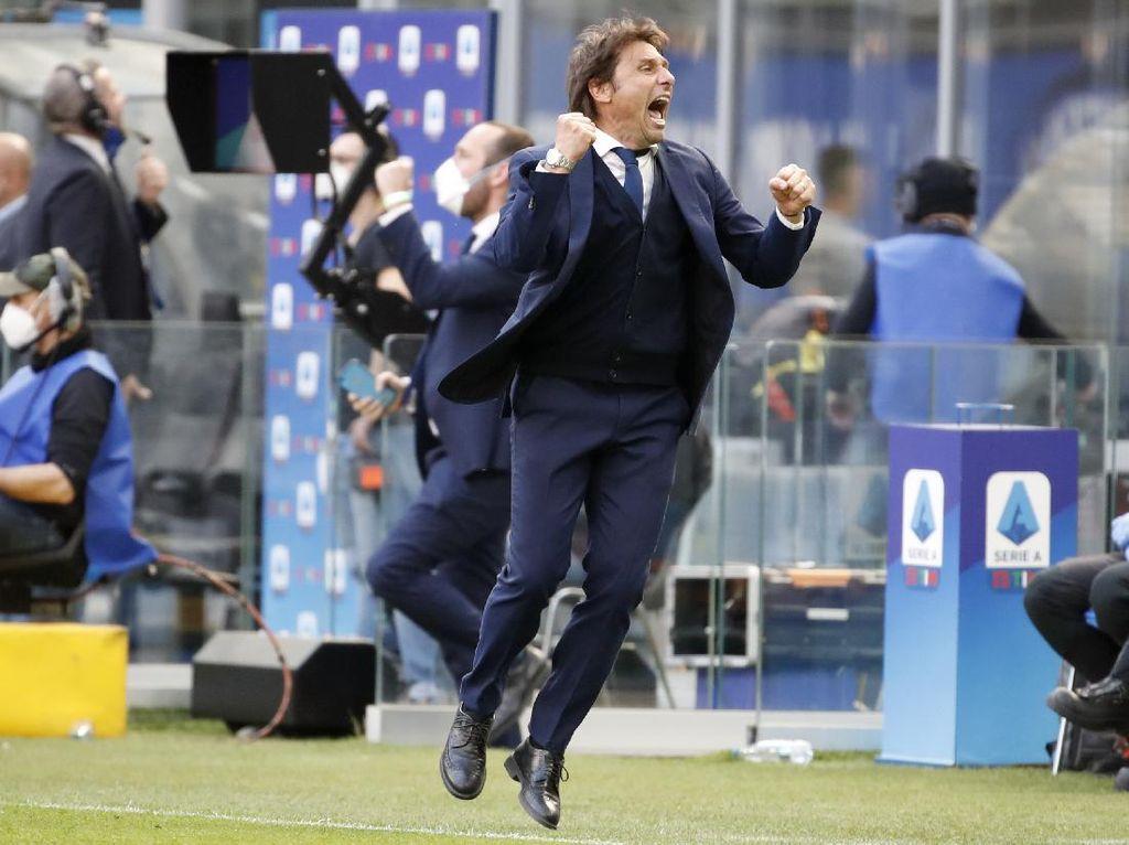 Moratti Salut dengan Conte, Si Mantan Juventus