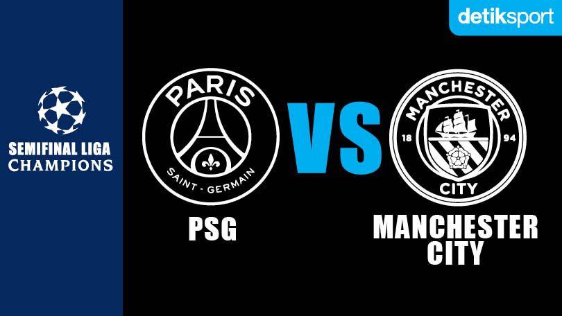 Banner PSG vs Manchester City