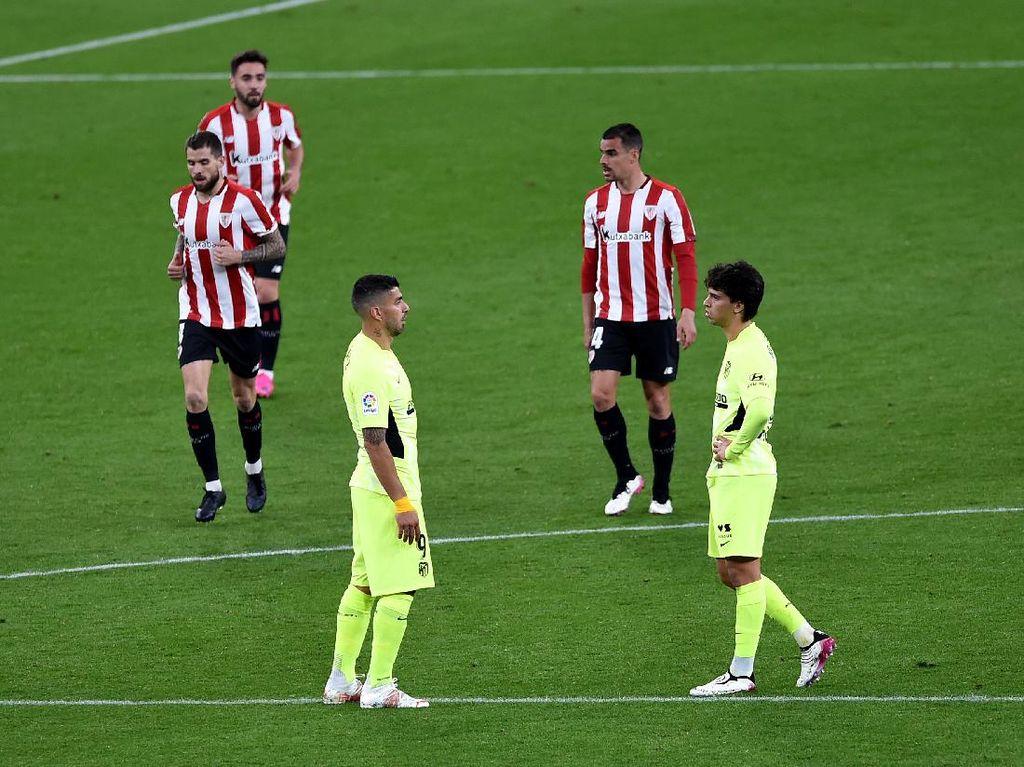 Bilbao Vs Atletico Madrid: Los Colchoneros Menyerah 1-2