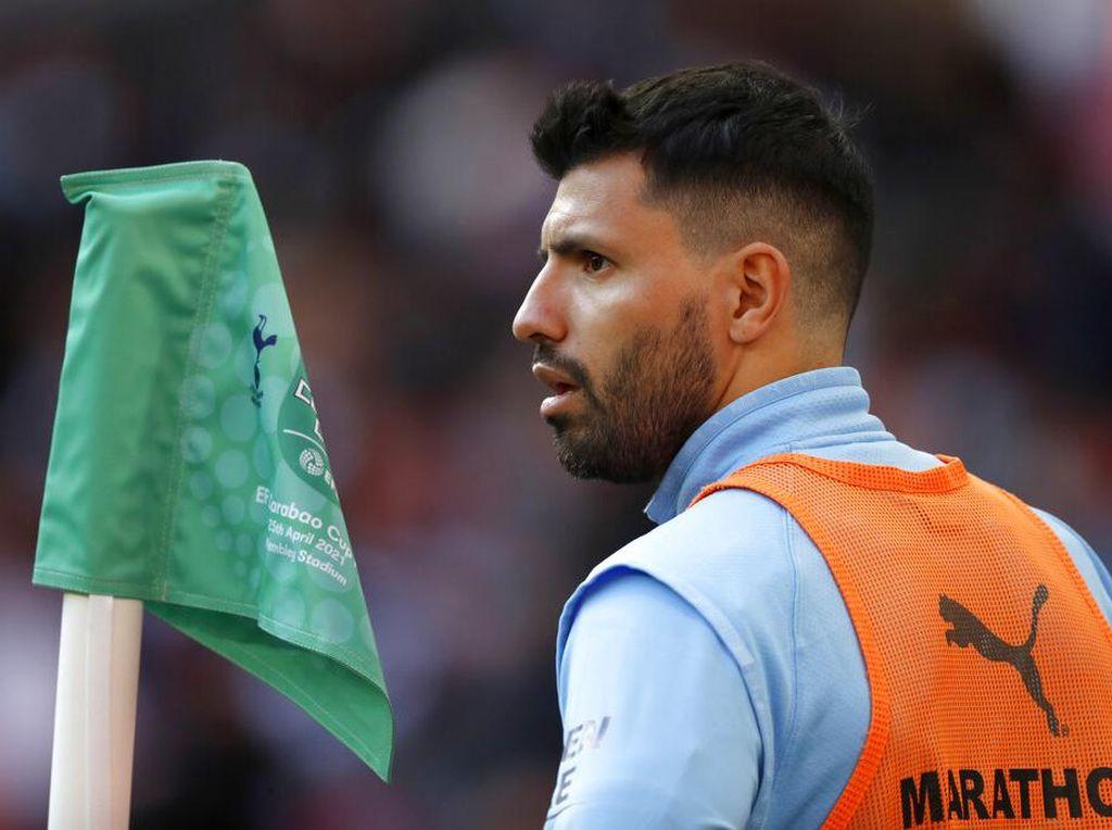 Guardiola Dikritik Terkait Aguero di Final Piala Liga Inggris