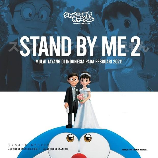 Fakta menarik seputar film terbaru Doraemon bertajuk Doraemon Stand by Me 2.