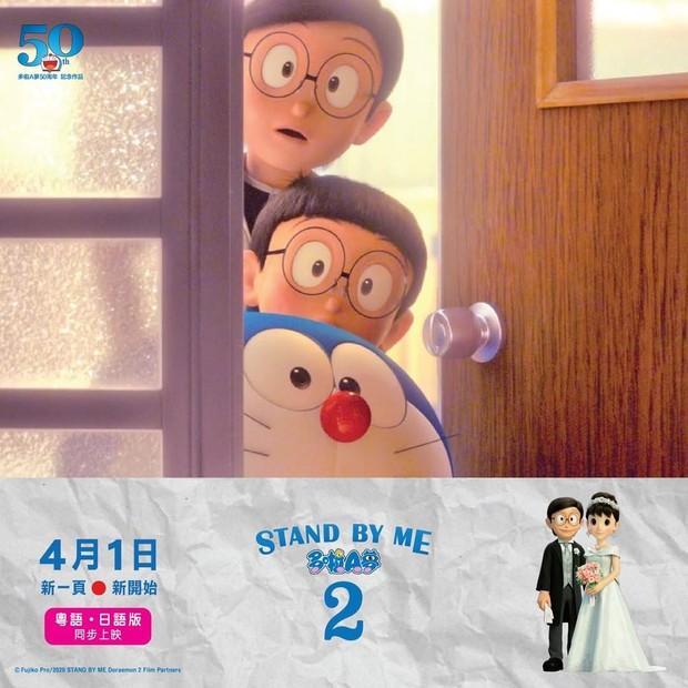 Doraemon dan Nobita menjelajahi 3 masa waktu yang berbeda.