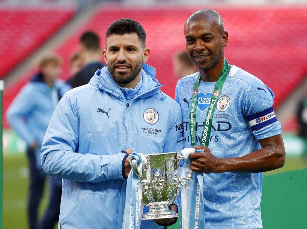 Man City Juara Piala Liga Inggris, Dua Pemainnya Bikin Rekor