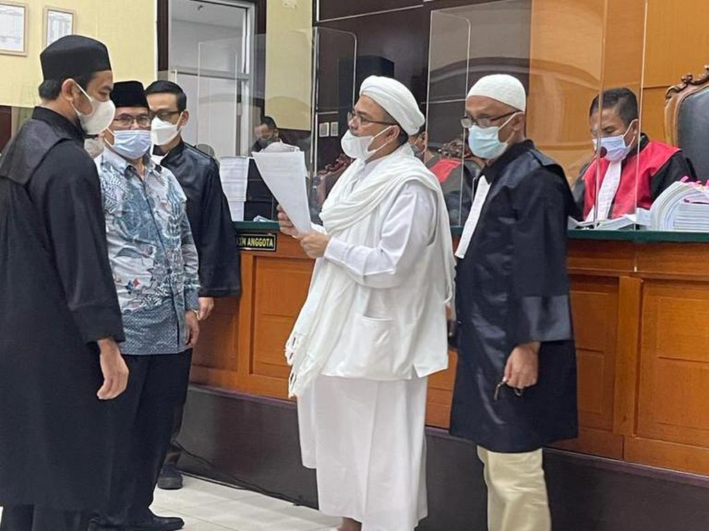 Batalkan Keliling Indonesia, Habib Rizieq Klaim Ogah Langgar Prokes Lagi