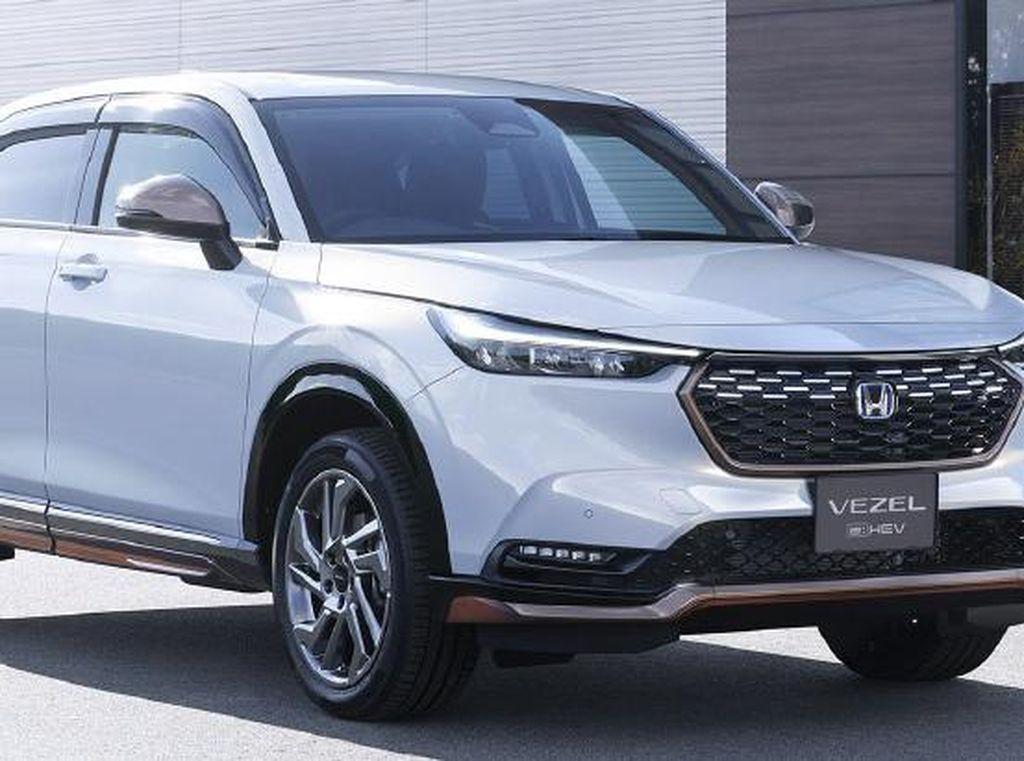 Tampilan Honda HR-V 2021 yang Lebih Elegan